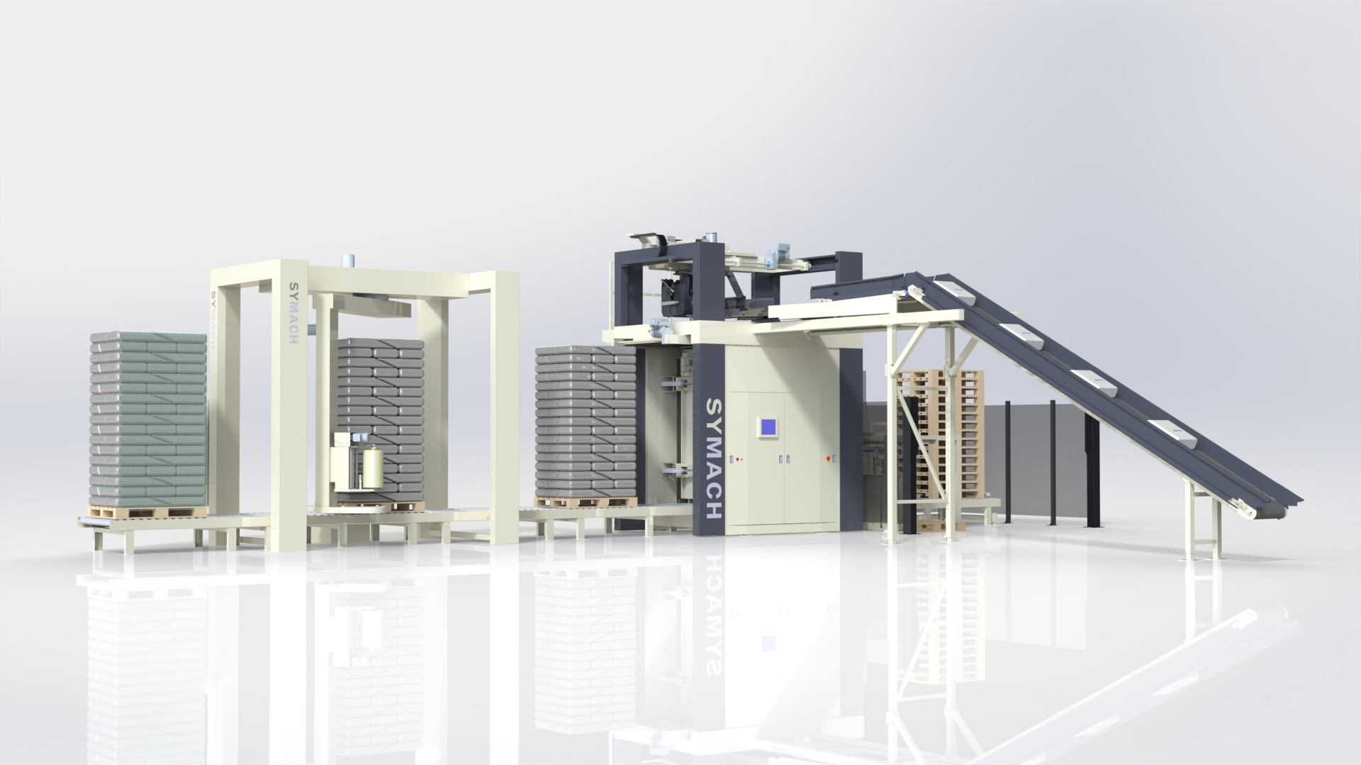 Palletizing machines