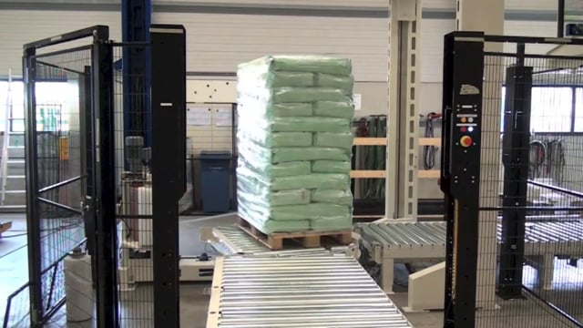 5010 Petfood 20kg Horizontal - SYMACH Palletizers